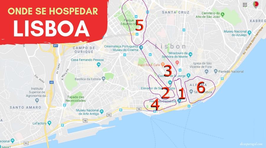 Onde Se Hospedar Em Lisboa Melhores Bairros Hoteis E Dicas De Airbnb